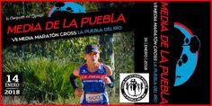 Vuelve la VII Media Maraton Cross La Puebla del Río - 2018 con un recorrido de 21.097mts. Se celebrará el 14 de enero de 2018 a las 11:00 de la mañana. #mediamaraton #lapuebladelrio #mediadelapuebla Vii, Baseball Cards, January, Racing, Tights, Sports