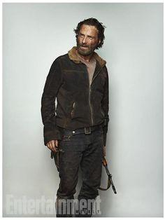 'Walking Dead' Star Portraits | Andrew Lincoln | Rick | 1 of 8 | EW.com