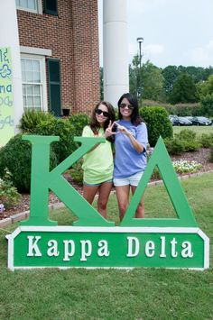 Kappa Delta's 2012 Bid Day!! » Jessica Magee Studios. I want letters like these!