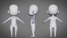 Image result for anime low poly character