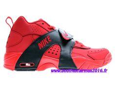 Nike Air Veer GS Chaussures Nike LifeStyle Pas Cher Pour Femme University Rouge/Noir 599213-600