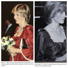 Worn March and November 1982 - while pregnant with William and a few months after his birth