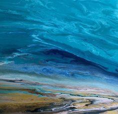 """A Beautiful Storm IX by Kimberly Conrad Acrylic ~ 24"""" x 24"""""""