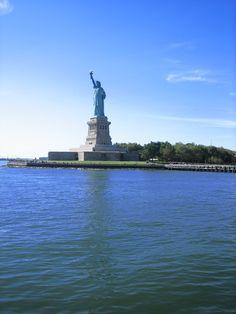 Statue of Liberty--thank you France & Mr. Bartholdi.
