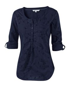 Large image of Juna Butterfly Broderie Blouse - opens in a new window