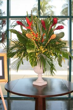 tropical plant arrangements - Google Search