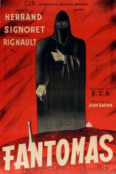 Fantômas (1947)Stars: Marcel Herrand, Simone Signoret, Alexandre Rignault, Lucienne Le Marchand, Françoise Christophe, Pierre Labry ~  Director: Jean Sacha