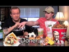 Fast Food - Germany vs USA - YouTube