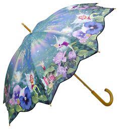 """Motiv umbrella """"Faries"""" ❤ http://www.beimjupiter.com/Media/Shop/5539_az1.jpg"""