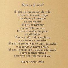 """Repost from @facundoarena """"El arte es caminar por la calle con vos""""  #september2016 #love #poetry #life 17.09.2016"""