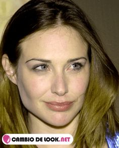 Claire Forlani sin maquillarse
