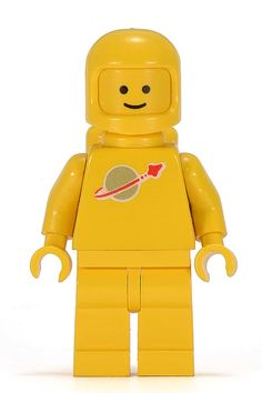 Lego Yellow Classic Spaceman Vintage Lego, Lego Space Sets, Classic Lego, Lego Room, Lego Worlds, Lego Parts, Childhood Toys, Lego Movie, 1980s