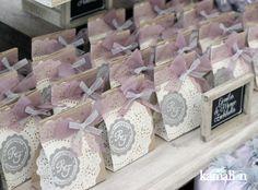 www.kamalion.com.mx - Mesa de Dulces / Candy Bar / Wedding / Boda / Lila &…
