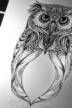 'Spotted Eagle Owl' - commission for Hoot Watches on Behance