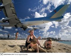 何度見てもスゴイ!超絶スリリングなセントマーチン島・マホビーチの日常風景をご覧あれ
