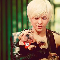 GD Jiyong / G Dragon ♡ #Kpop #BigBang & Gaho. So cute!