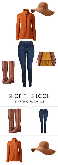 """""""Bez naslova #1164"""" by dea-edita-77 ❤ liked on Polyvore featuring Ariat, Topshop, Lands' End and Chloé"""