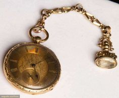 Augusta Auctions, March 21, 2012 NYC, Lot 225: Roskell Gold Pocket Watch C. 1820