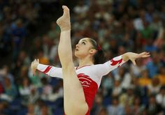 Russia's Aliya Mustafina competes in the women's gymnastics floor exercise final in the North Greenwich Arena during the London 2012 Olympic Games August 7, 2012.