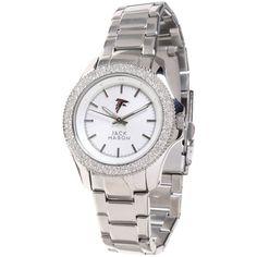 Atlanta Falcons Jack Mason Brand Women's Glitz Bracelet Watch