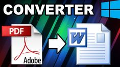 Como converter PDF para Word Adobe, Pdf, Words, Tutorials, Movies, Horse