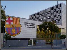 F.C. BARCELONA Ciutat Esportiva Joan Gamper (Sant Joan Despí)