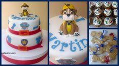 Paw Patrol Cake, Cupcakes and Cookies