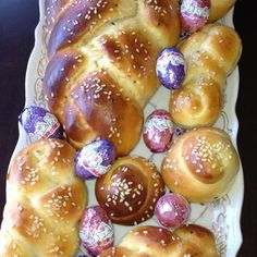Armenian sweet Easter bread More