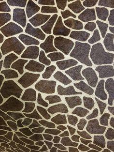Exotic Print Hair-On Craft Panel - Giraffe