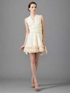 Rosette Jersey Dress by twobirds Bridesmaid on Gilt.com