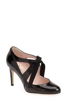 kate spade new york 'aiko' cutout pump (Women) High Heel Pumps, Women's Pumps, Pump Shoes, Stiletto Heels, New York S, Aiko, Dream Shoes, Shoe Closet, Leather Pumps