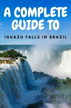 On the border between Argentina, Brazil and Paraguay, you'll find one of the most beautiful places in the world – the Iguazu falls. A national park blessed with outstanding nature and waterfalls, it's one of South America's ultimate travel destinations. Find out everything you need to know for a trip to the Brazilian side of the Iguazu falls with this guide! #TravelDestinationsUsaSouth