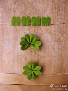 you can make a DIY clover even if you've never sewn before: it's so easy!