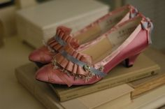 marie antoinette slippers