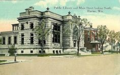 racine_libraryOld library at 7th and Main, Racine, WI.