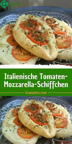 Tomate Mozzarella, Party Finger Foods, Appetizer Dips, Nom Nom, Brunch, Food And Drink, Pasta, Vegan, Cooking