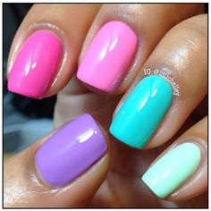 All The Pretty Colors. Summer Nails
