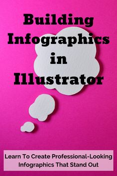 Learn To Create Professional-Looking Infographics That Stand Out. Learn how to create basic shapes and icons; add dimensions, textures, and effects to your infographic design; build a grid structure and design within the grid; and design a pie chart. | Art & Design | Design Projects | Adobe Illustrator  #infographics #designprojects #afflink