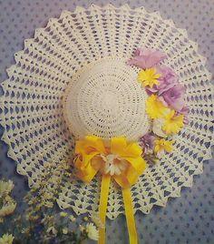 Vintage Crocheted Hat Pattern
