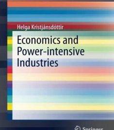 Economics And Power-Intensive Industries PDF