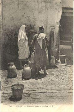 Fontaine de la Casbah. Alger