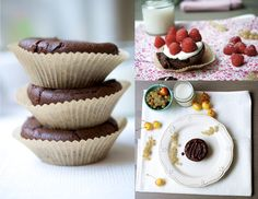 Moelleux au chocolat - Cloudberries and Spice - 100% Vegan, Gluten-Free Recipes