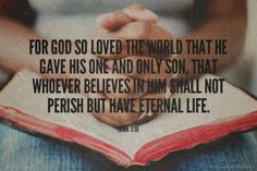For God so loved the world that He gave his one and only son, that whoever believes in Him shall not perish but have eternal life. Amen! www.reachavillage.org