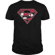 Kansas City Chiefs Superman Logo Shirt