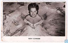 Ansichtkaart - Film: Actrices: Romy Schneider - Romy Schneider (Sissi)