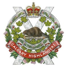The Calgary Highlanders [Institution militaire] Military Units, Military Police, Military Art, Military History, Military Flags, Military Service, Usmc, Canadian Army, Canadian History