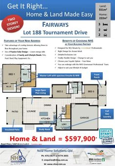 House and Land Packages - Fairways Golf Course Community at Townsville Golf Club