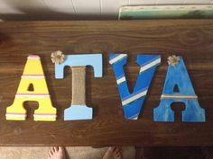 Letters for my roommates!