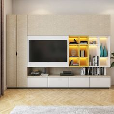 Contemporary living Room Decor - What is rustic decor? Contemporary living Room Decor - How do you decorate a large wall in a living room? Indian Living Rooms, Living Room Modern, Living Room Interior, Living Room Decor, Tv Cabinet Design, Tv Wall Design, Living Room Cabinets, Tv Cabinets, Armoire Tv