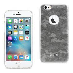 Reiko iPhone 6-6s 4.7inch Bumper Design TPU case Camouflage Brown PC + TPU Case